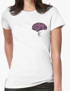 Coffin Squad Brains Womens Fitted T-Shirt