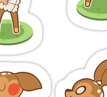 Fauna -Animal Crossing Sticker