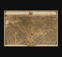 Panoramic Maps Washington the beautiful capital of the nation 002 Kids Tee