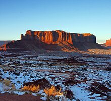 Monument Valley Evening by Harry Oldmeadow