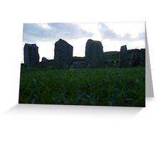 Drombeg Stone Circle Greeting Card