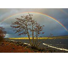 Rainbow Over Ness Photographic Print