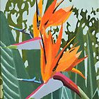 Strelitzia iPhone & iPad & iPod Case by Marjolein