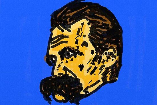 Friedrich Nietzsche by Rachedi Kamel