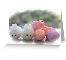 Easter Bunnies... Greeting Card