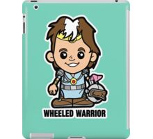 Lil Wheeled Warrior iPad Case/Skin