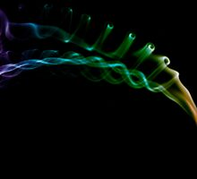 Smoke Rainbow by Woolfe