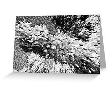 Crystal flowers Greeting Card