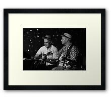 The Irwell Street Band Framed Print
