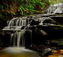 Leura Cascades. by Julie  White