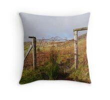 The Borlin Valley Throw Pillow