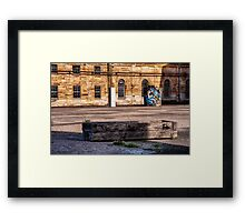 Empty Spaces - Ready Canvas Framed Print
