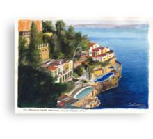 Via Crevano Canvas Print
