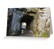 Tunnel in County Kerry Greeting Card