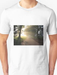 A Soft Summer Morning on the Loop Road Unisex T-Shirt