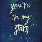 You're in my stars (calendar) by Sybille Sterk
