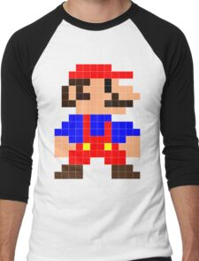Super Mario Men's Baseball ¾ T-Shirt