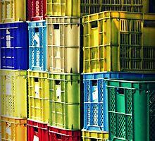 Crates by Karen Tregoning