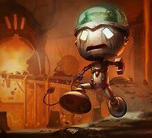 Sad Robot Amumu - League of Legends by sinaki