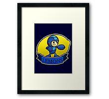 Mega Lemons Framed Print