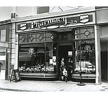 Pharmacy Photographic Print