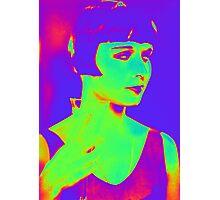 Louise Brooks pop art Photographic Print