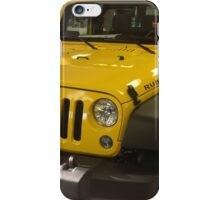 Yellow jeep iPhone Case/Skin