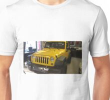 Yellow jeep Unisex T-Shirt