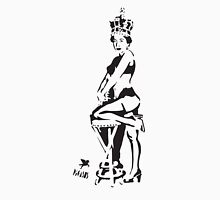 Hot Queen stencil in Camden Town Unisex T-Shirt