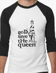 Hot Queen stencil, God save the queen T-Shirt