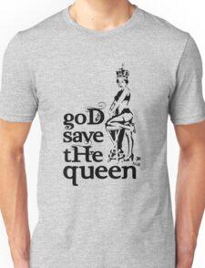 Hot Queen stencil, God save the queen Unisex T-Shirt