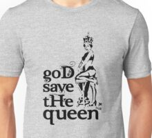 Hot Queen stencil, God save the queen Unisex T-Shirt