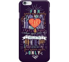 If I Could Fly iPhone Case/Skin