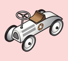 A retro vintage race cart. Kids Clothes