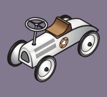 A retro vintage race cart. Kids Clothes