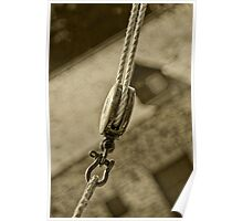 Rope and Pulley Poster