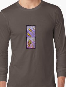 space ship invasion Long Sleeve T-Shirt