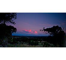 Sunset Reflections over Wagga Wagga Photographic Print