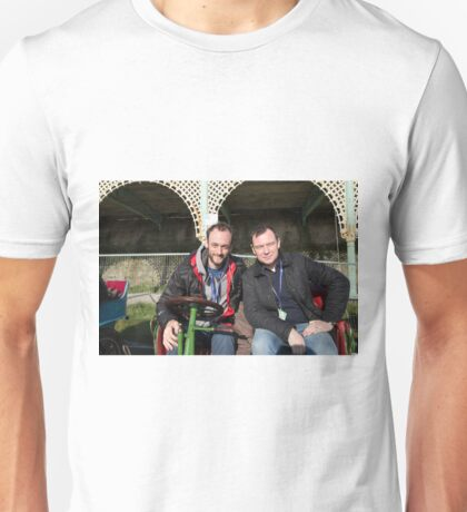 Andrew Lancel and Jonathon Montagu Unisex T-Shirt