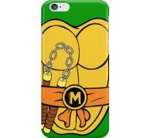 michelangelo TMNT double stick iPhone Case/Skin