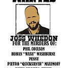 Joss Whedon: Wanted (2) by jammywho21