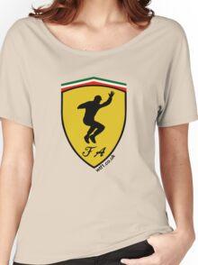Fernando Alonso Celebration (Black Writing) Women's Relaxed Fit T-Shirt