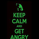 Keep Calm and Get Angry by NuclearJawa