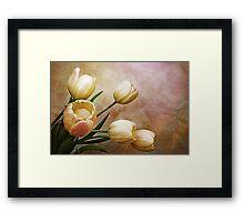 romantic spring Framed Print