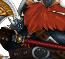 Dwarf Sticker