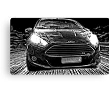 Ford Fiesta Manga Canvas Print