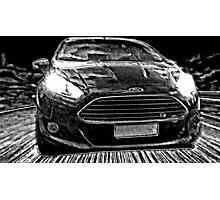 Ford Fiesta Manga Photographic Print