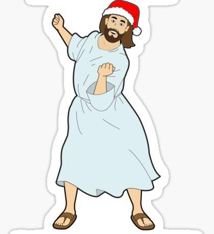 GO JESUS! ITS YOUR BIRTHDAY! Sticker