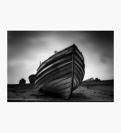 The old Boat Photographic Print