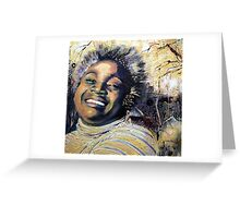 Dorrin Laughing Greeting Card